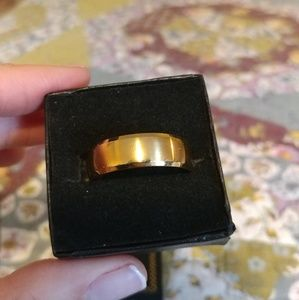 Jewelry - Mens Size 14 Stainless Steel Wedding Band